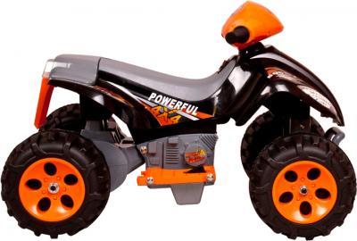 Детский квадроцикл KinderKraft ChuChu Quad Black - вид сбоку