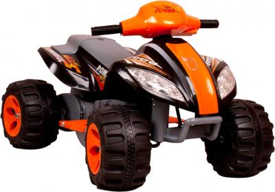 Детский квадроцикл KinderKraft ChuChu Quad Black - общий вид