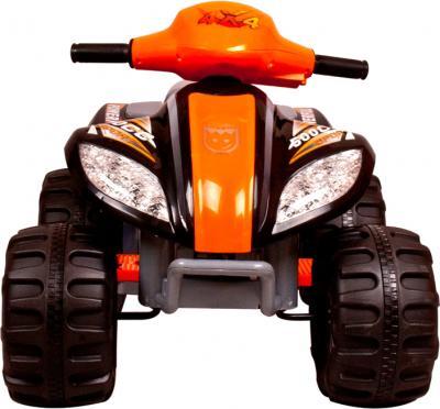 Детский квадроцикл KinderKraft ChuChu Quad Black - вид спереди