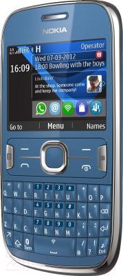 Мобильный телефон Nokia Asha 302 Midnight Blue