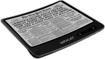 Электронная книга Wexler Flex ONE (Black) - гибкий экран