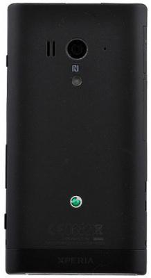 Смартфон Sony Xperia Acro S (LT26w) Black - задняя панель