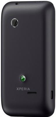 Смартфон Sony Xperia Tipo / ST21i (черный) - задняя панель