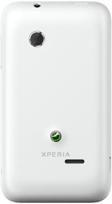 Смартфон Sony Xperia Tipo / ST21i (белый) - задняя панель