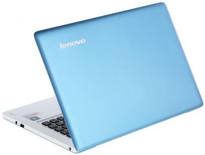 Ноутбук Lenovo IdeaPad U310 (59338271) - вид сзади