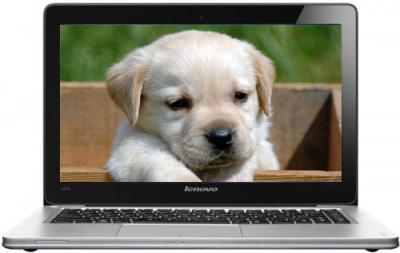 Ноутбук Lenovo IdeaPad U310 (59338270) - фронтальный вид