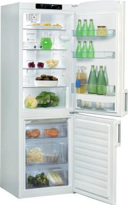 Холодильник с морозильником Whirlpool WBE 3322 A+NFW - внутренний вид