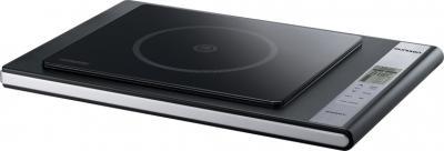 Электрическая настольная плита Oursson IG1200B/BL - общий вид