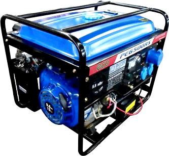 Бензиновый генератор Eco PE 6500 RS - общий вид