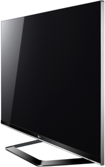 Телевизор LG 47LM660T - вид сбоку