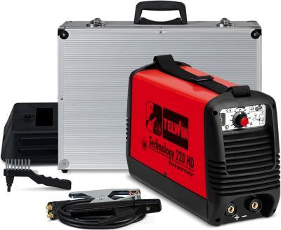 Инвертор сварочный Telwin TECHNOLOGY 220 HD + ACX - комплектность