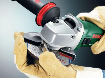 Угловая шлифовальная машина Bosch PWS 10-125 СЕ (0.603.347.220) - передняя часть