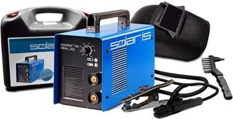 Инвертор сварочный Solaris MMA-205В + ACX - комплектность