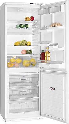Холодильник с морозильником ATLANT ХМ 6021-082 - внутренний вид