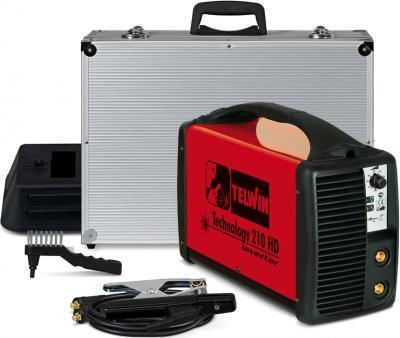 Инвертор сварочный Telwin TECHNOLOGY 210 HD + ACX - комплектность