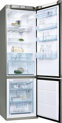 Холодильник с морозильником Electrolux ENB 39409 X8 - общий вид