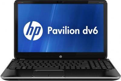 Ноутбук HP Pavilion dv6-7171er (B3R01EA) - фронтальный вид