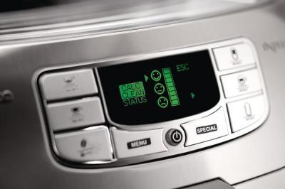 Кофемашина Saeco INTELIA-Evo Latte (HD8754/19) - панель управления
