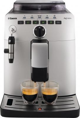 Кофемашина Saeco Intuita Cappuccino Silver (HD8750/99) - вид спереди