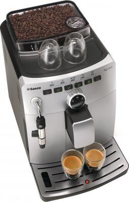Кофемашина Saeco Intuita Cappuccino Silver (HD8750/99) - вид сверху