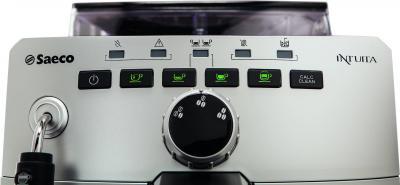 Кофемашина Saeco Intuita Cappuccino Silver (HD8750/99) - панель управления
