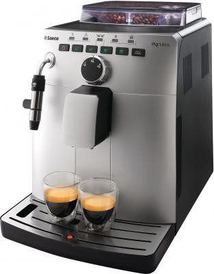 Кофемашина Saeco Intuita Cappuccino Silver (HD8750/99) - общий вид