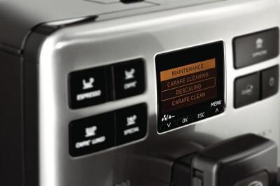 Кофемашина Saeco Energica Focus (HD8852/09) - панель управления