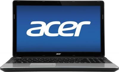 Ноутбук Acer Aspire E1-521-11204G50Mnks (NX.M3CEU.002) - фронтальный вид