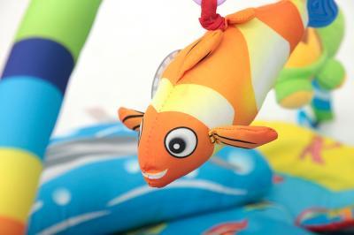 Игровой коврик KinderKraft Ocean World - детальное изображение