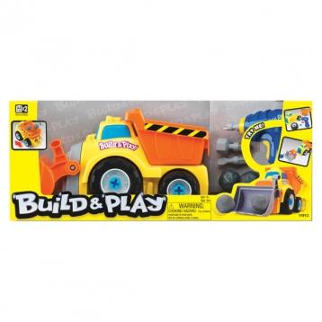 """Набор для сборки Keenway Самосвал """"Build & Play"""" 11913 - в упаковке"""