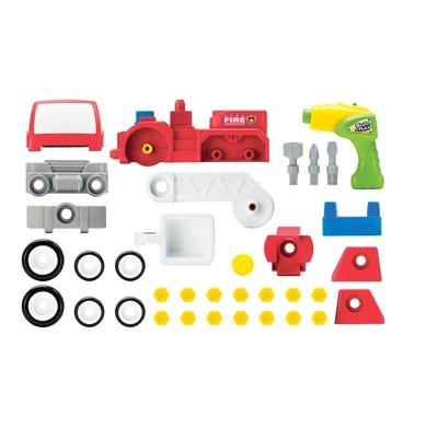 """Набор для сборки Keenway Пожарная машина """"Build&Play"""" 11921 - комплектация"""