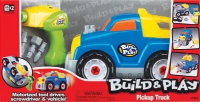 """Набор для сборки Keenway Пикап """"Build&Play"""" 11924 - общий вид"""