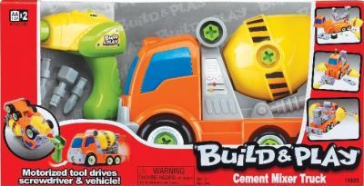 """Набор для сборки Keenway Бетономешалка """"Build&Play"""" 11925 - в упаковке"""