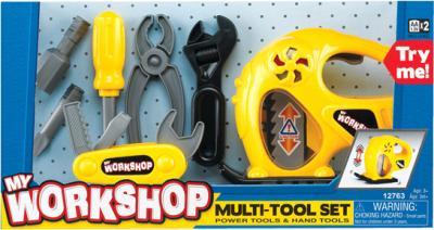 Игровой набор Keenway Набор инструментов с электрорубанком 12763 - общий вид