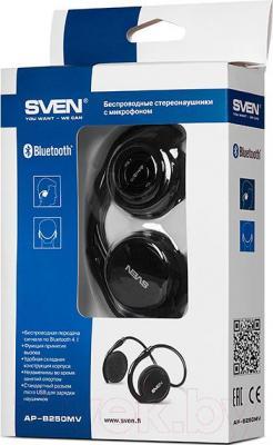 Наушники-гарнитура Sven AP-B250MV (черный) - коробка