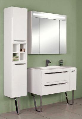 Шкаф-пенал для ванной Акватон Блент 100 (1A167403BL010)