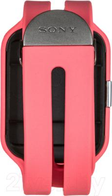 Ремешок для фитнес-трекера Sony SWR510SRU/P (розовый)