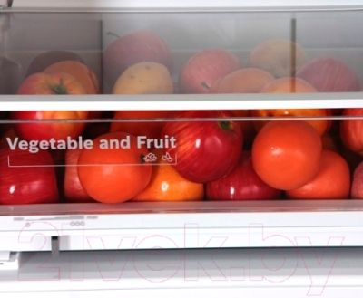 Холодильник с морозильником Bosch KGN39VL19R