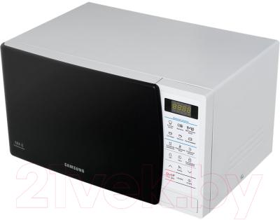 Микроволновая печь Samsung ME83KRQW-1/BW - вид сбоку