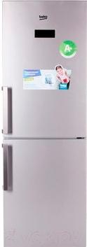 Холодильник с морозильником Beko RCNK295E21S