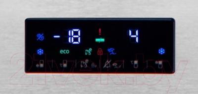 Холодильник с морозильником Beko RCNK320E21S - панель управления
