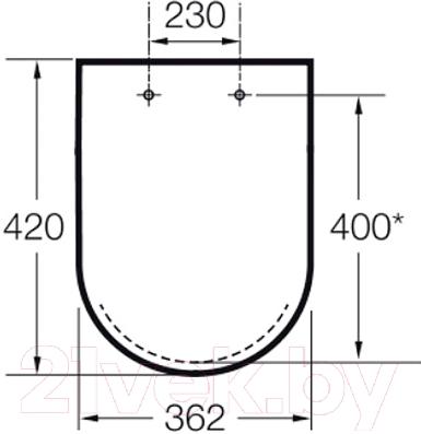 Сиденье для унитаза Roca N-Meridian Compacto A8012AB004