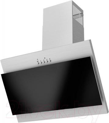 Вытяжка декоративная Exiteq EX-5026 (нержавеющая сталь/черный)