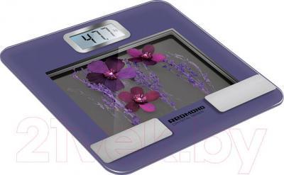 Напольные весы электронные Redmond RS-730 (фиолетовый)