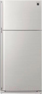 Холодильник с морозильником Sharp SJ-SC59PVWH