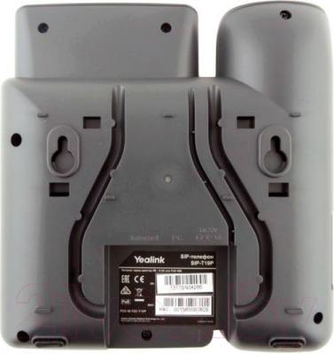 Проводной телефон Yealink SIP-T19P - вид сзади