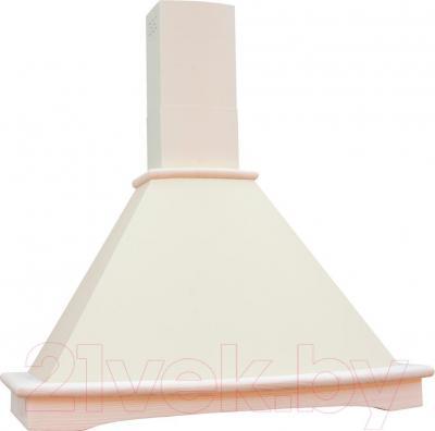 Вытяжка купольная Teka Nubero 90 / 40489134 (бело-кремовый)