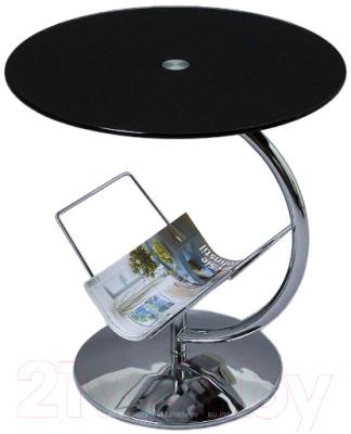 Журнальный столик Halmar Alma (черный)