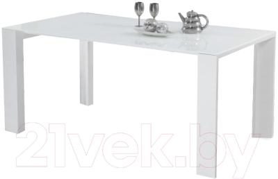 Обеденный стол Halmar Jonas (белый)