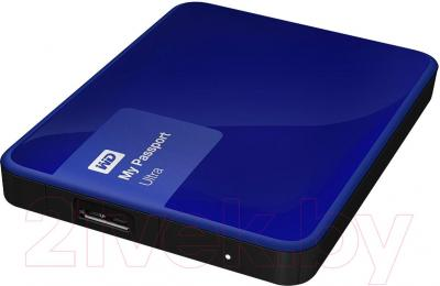 Внешний жесткий диск Western Digital My Passport Ultra 1TB Blue (WDBGPU0010BBL-EESN)